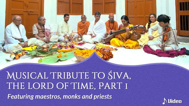 Musical Tribute to Śiva, the Lord of ...