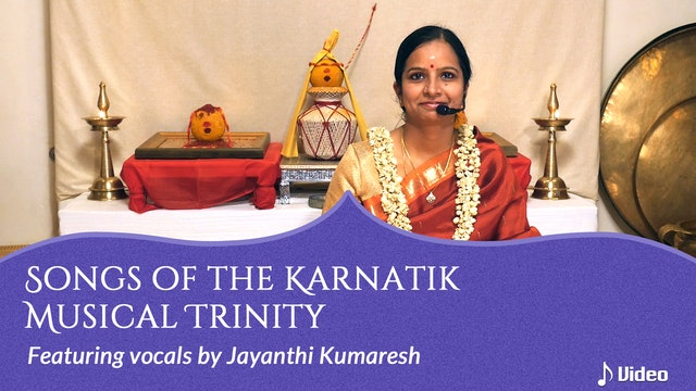 Songs of the Karnatik Musical Trinity - Shobhane Pantuvarali by Saint Tyagaraja