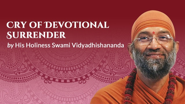 Cry of Devotional Surrender