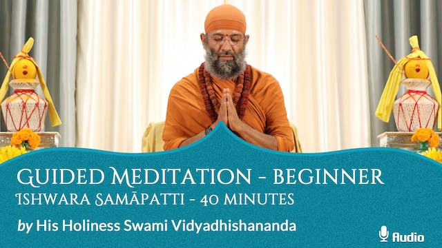 Guided Meditation - Beginner - Ishwar...