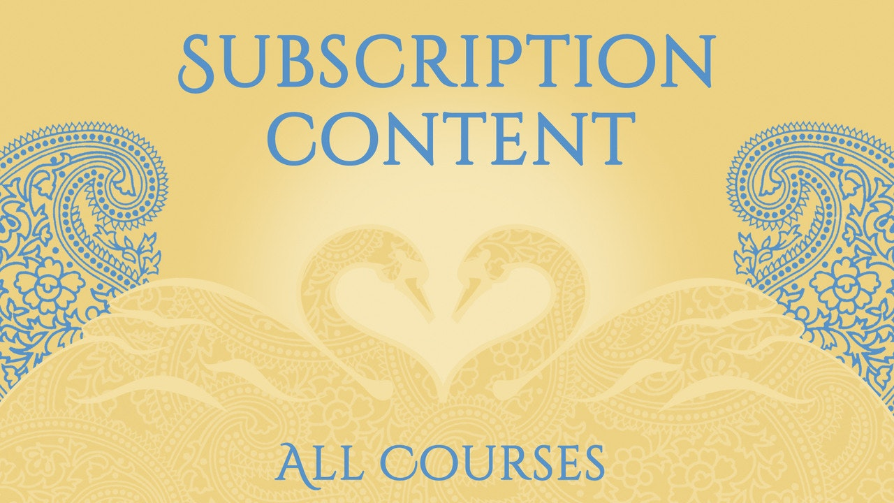 Subscription Content - All Courses