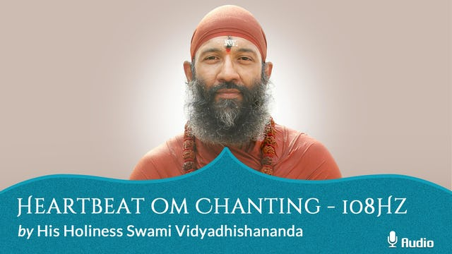 Heartbeat Oṃ Chanting - 108Hz - Free