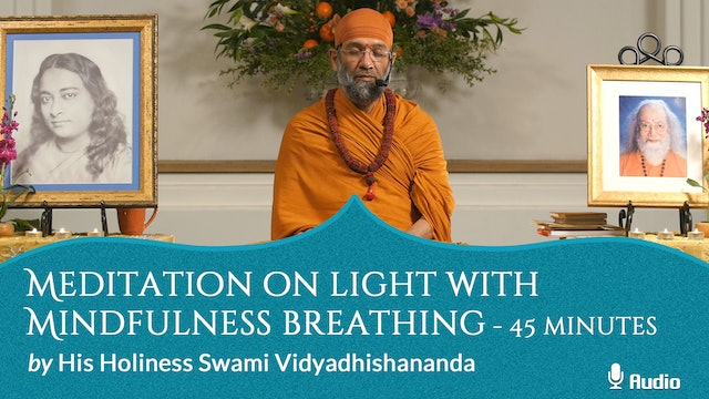 Meditation on Light with Mindfulness Breathing