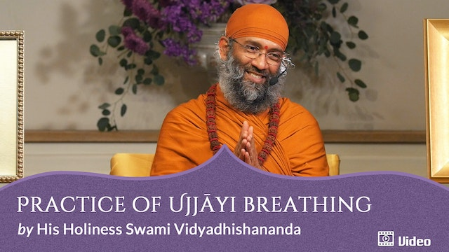 Practice of Ujjāyi Breathing