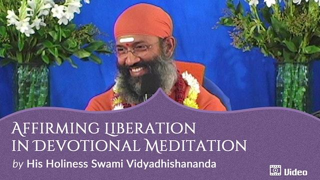 Affirming Liberation in Devotional Meditation