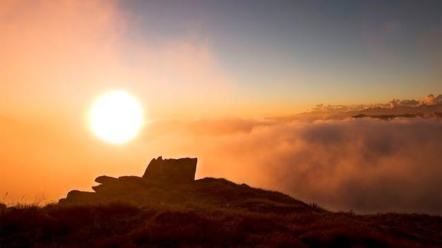 Sunrise Sungazing Suryakriya