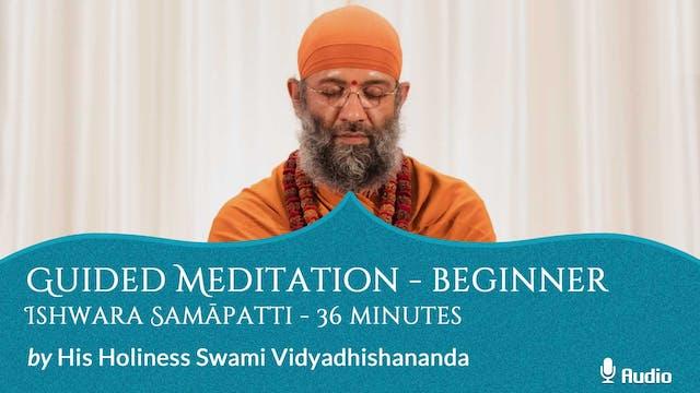 Guided Meditation - Beginner - Ishwar...