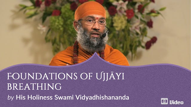 Practice of Ujjāyi Breathing - 2. Fou...