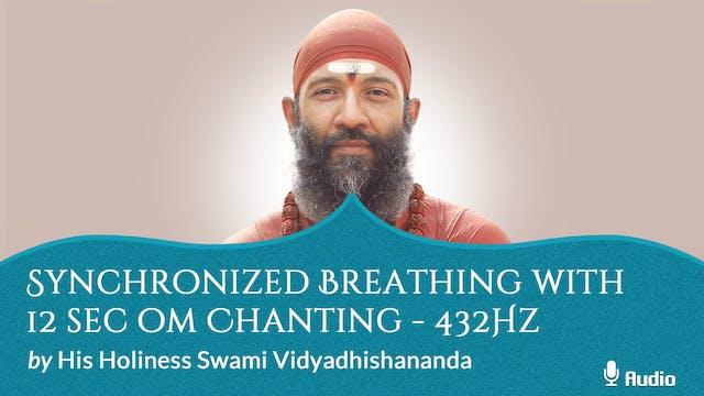Synchronized Breathing with 12 Sec Om...
