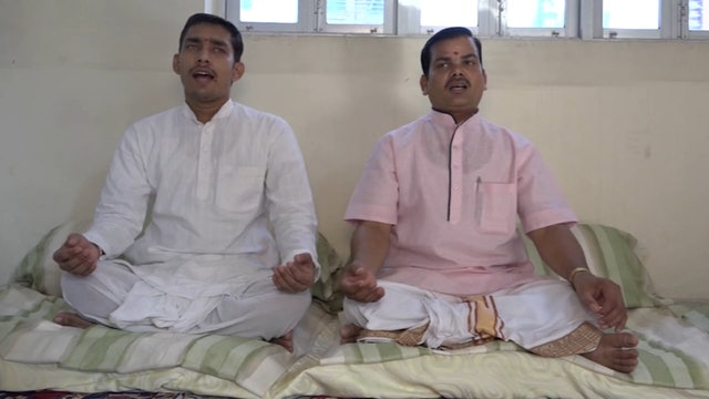 SāmaVeda Singing from Rāṇāyaniya Branch