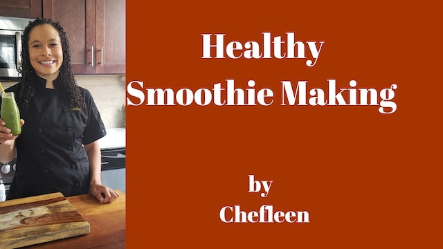 Healthy Smoothie Recipes by Chefleen