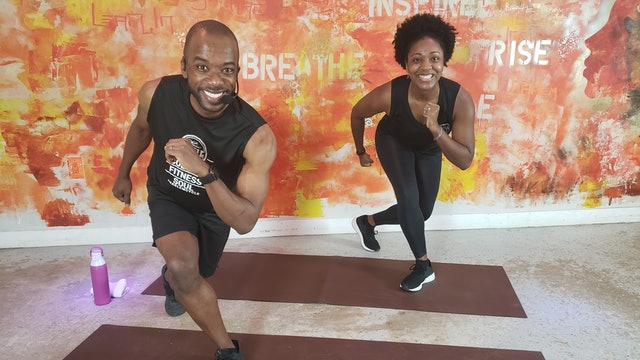 30 min Total Body Strength with Leah and Shaun