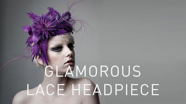 Glamorous Lace Headpiece