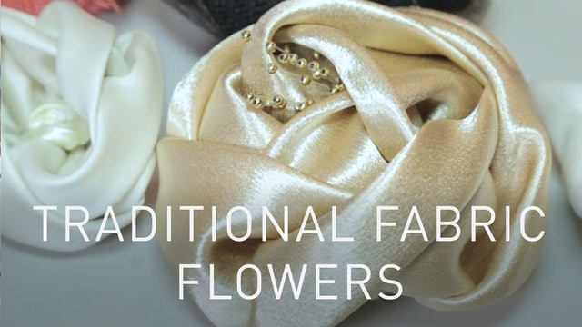 Traditional Fabric Flowers