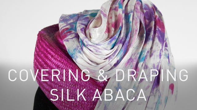 Covering And Draping With Silk Abaca