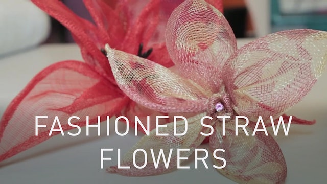 Fashioned Straw Flowers