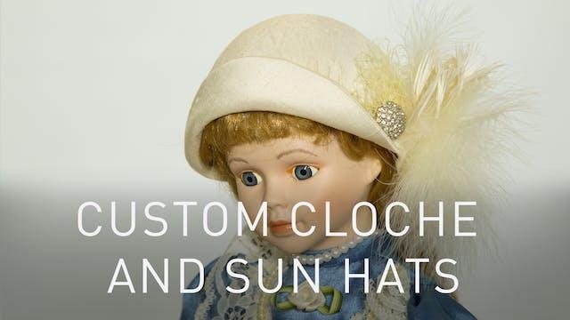 Custom Cloche And Sun Hats