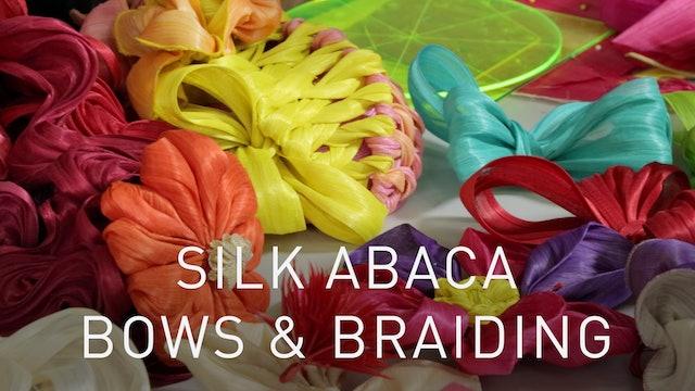 Silk Abaca Bows And Braiding