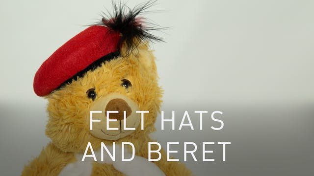 Felt Hats And Traditional Beret