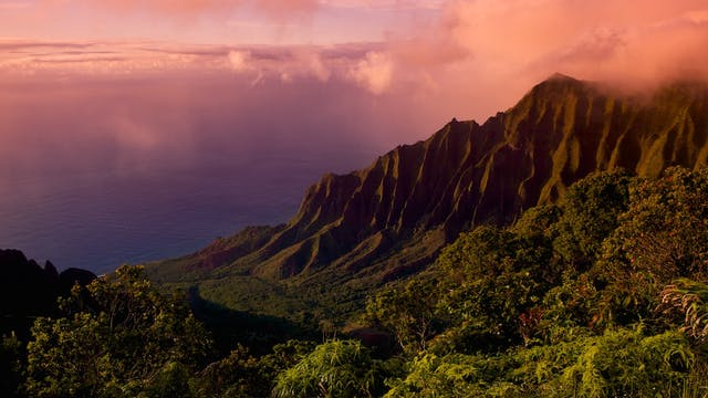 Beautiful Kaua'i (with music by Steven Halpern)