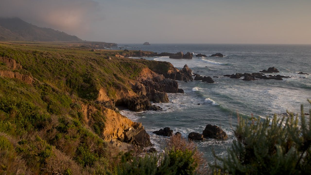 Big Sur Coast California with Music by Steven Halpern