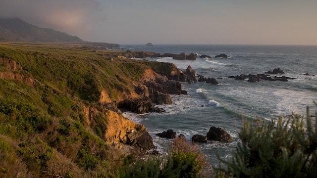 Big Sur Coast California with Music by Steven Halpern