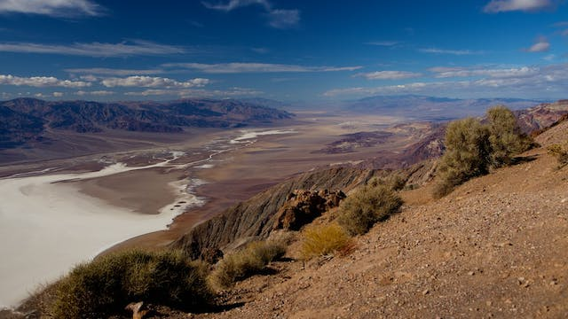 Death Valley with music by Steven Halpern.