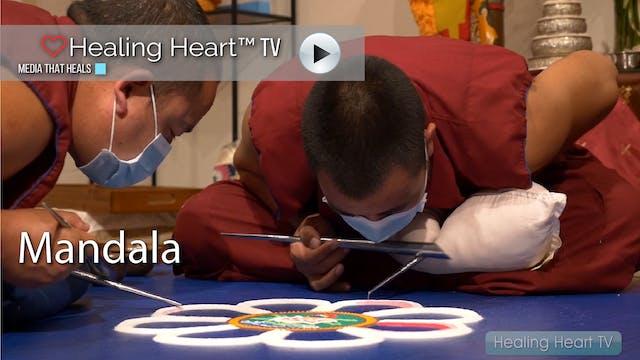 Tibetan Monks Mandala