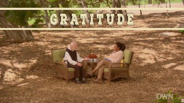 GRATITUDE Oprah & Br. David Steindl-Rast