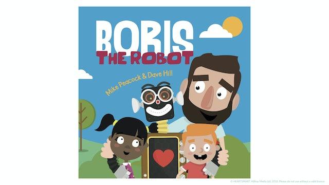 Boris the Robot Book! (UK Version)