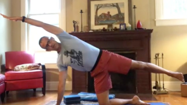 Slow Flow Vinyasa with Andrew: Balancing from Your Center