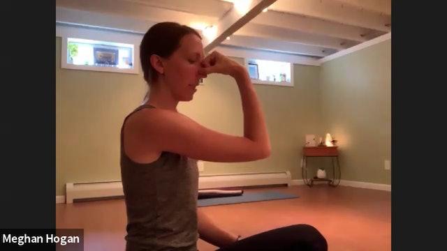 Hatha Yoga with Meghan Hogan, June 18, 2020