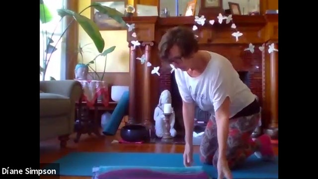 Chakra Yoga with Diane Simpson, June 15, 2020. Heart Chakra