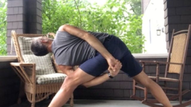 Vinyasa Flow with Andrew, July 30, 2020, Outer Hips and Low Back Therapy