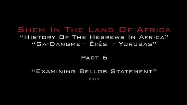Shem In The Land Of Africa 6