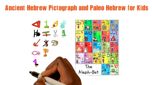 PEY - ANCIENT HEBREW PICTOGRAPH AND PALEO HEBREW FOR KIDS