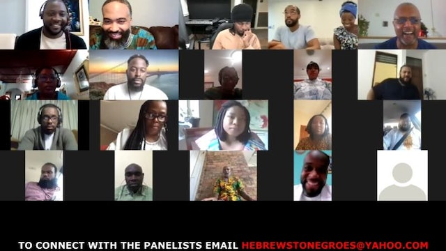 H2N ISRAELITE PANEL DISCUSSION FROM THE DIASPORA & AFRICA 8/29/2021