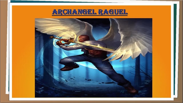 ARCHANGEL RAGUEL - USING EKEGUSII-SWAHILI HEBREW BANTU LANGUAGE CODE.