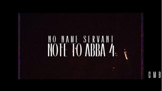 Note to Abba 4 by Nonameservant (Dir....