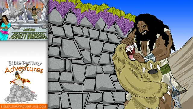 6. Samson Mighty Warrior