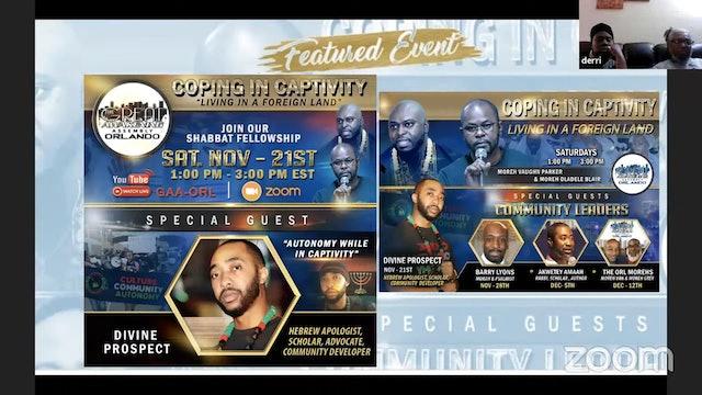 Great Awakening Orlando  Shabbat Fellowship with Divine Prospect