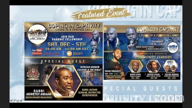 Great Awakening Orlando  Shabbat Fellowship with Rabbi Akwetey Amaah