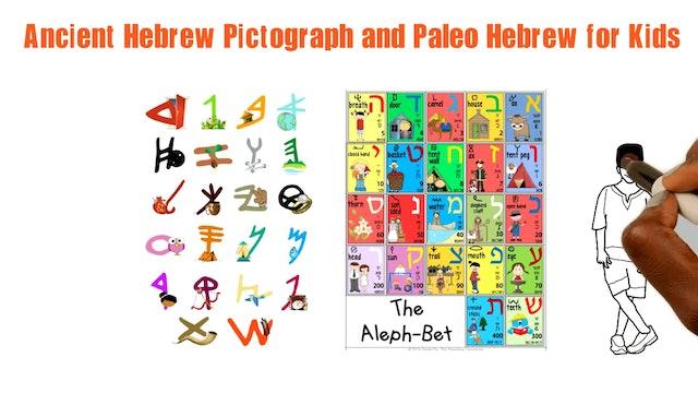 MEM - ANCIENT HEBREW PICTOGRAPH AND PALEO HEBREW FOR KIDS