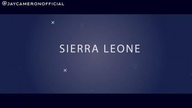 Jay Cameron's Sierra Leone Homecoming...