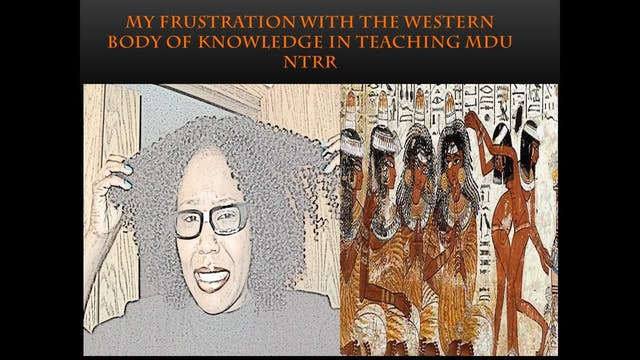 MY PROBLEM WITH AFROCENTRIC SCHOLARS ...