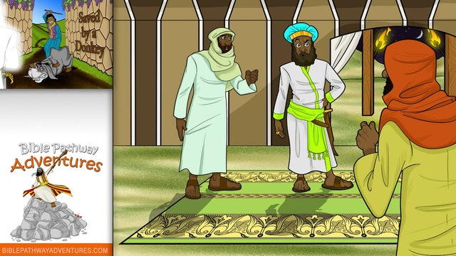 10. Saved by a Donkey (Balaam's donkey)