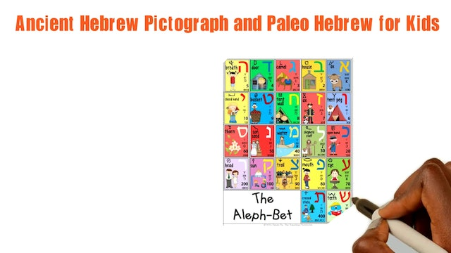 SHIN - ANCIENT HEBREW PICTOGRAPH AND PALEO HEBREW FOR KIDS