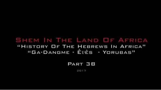 Shem In The Land Of Africa 3B