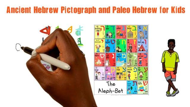 SAMECH/SIN - ANCIENT HEBREW PICTOGRAP...
