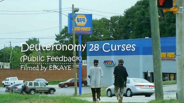 DEUTERONOMY 28 CURSES (PUBLIC FEEDBAC...